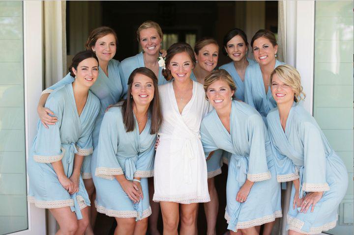 485b6de20a SOFTAMOR « Bride and Bridesmaid robes