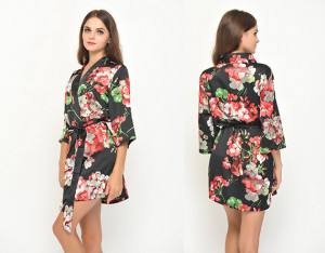 black-floral-bird-satin-robes-without-lace