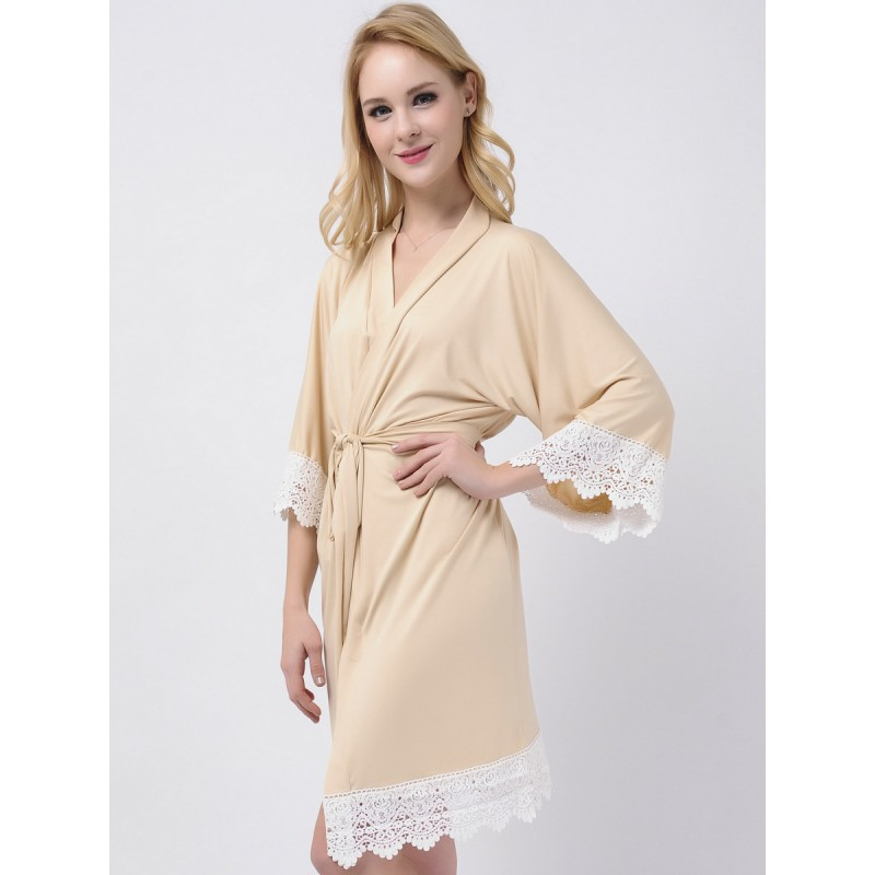 Jersey Stretchy Robes For Bridesmaids